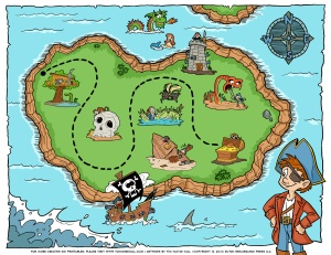 Pirate-Treasure-Map